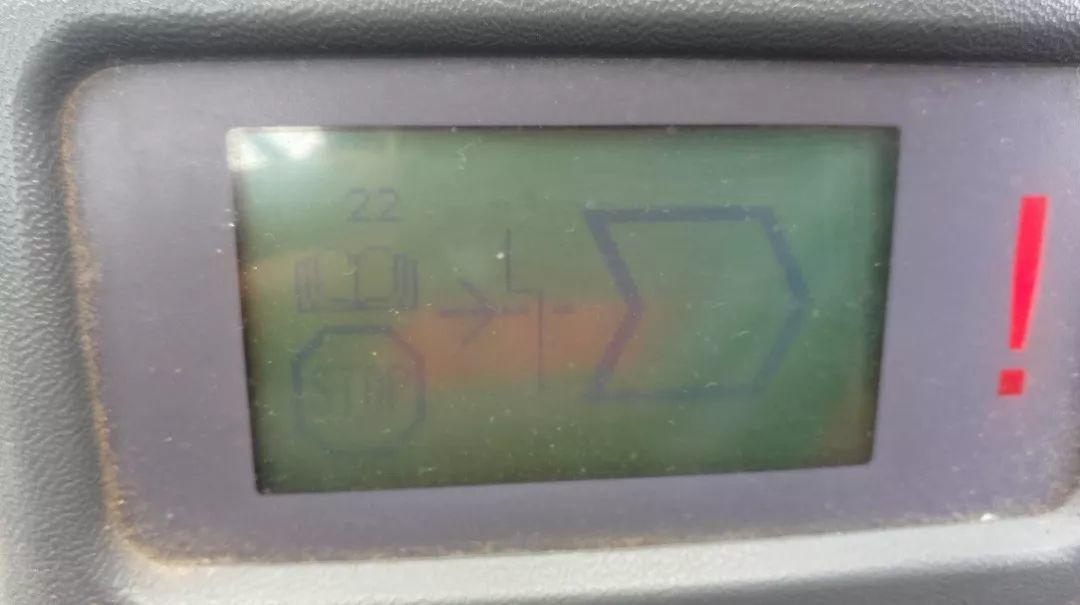 卡尔玛DCT80堆高机22#故障代码报警排查维修-港口技术安全网