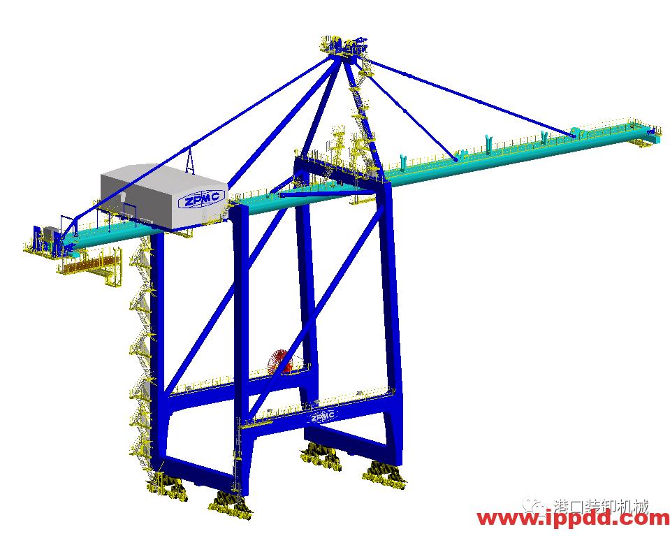 ZPMC推出创新型岸桥技术︱港口装卸机械-港口技术安全网