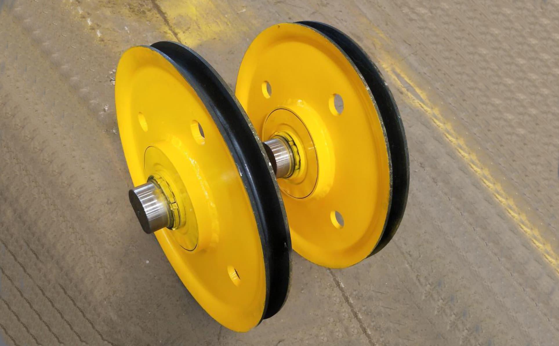 起重机热轧滑轮与铸钢滑轮的区别与选择-港口技术安全网