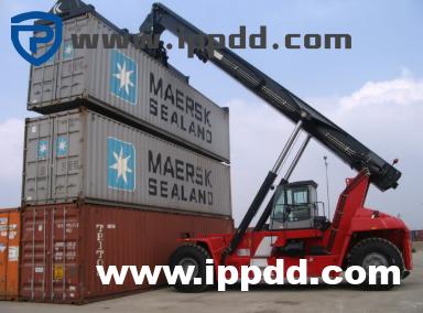卡尔玛DCG双箱堆高机吊具无液压动作的快速维修案例-港口技术安全网